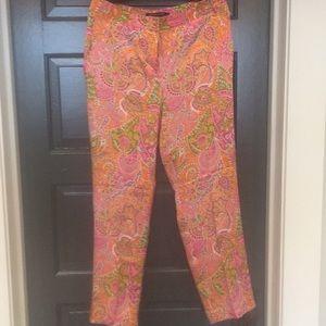 Adrienne Vitadini 100%silk summer pants